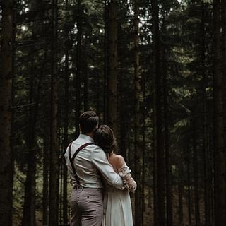 Marleenvelous Fotografie Forest Elopement Wald Hochzeit NRW Deutschland
